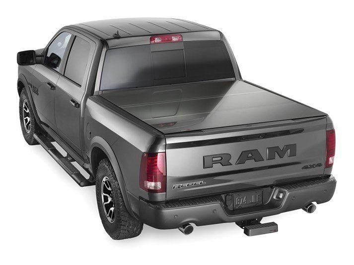 2018 Ram Ram 1500 Weathertech Alloycover Hard Tri Fold Pickup Truck Bed Cover Weathertech Pickup Truck Bed Covers Pickup Trucks Bed Truck Bed Covers