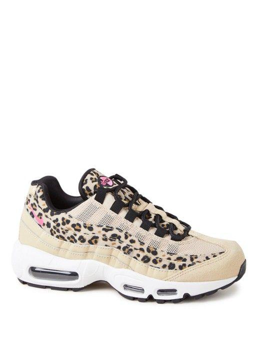 wholesale dealer 3fb30 9690f Nike Air Max 95 Premium sneaker met luipaarddessin   ☆ Shoesss ...