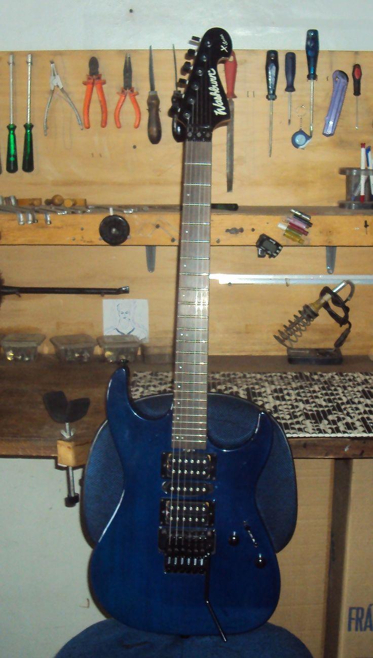 Guitarra Washburn - Regulagem geral - Oficina das Guitarras Mozart