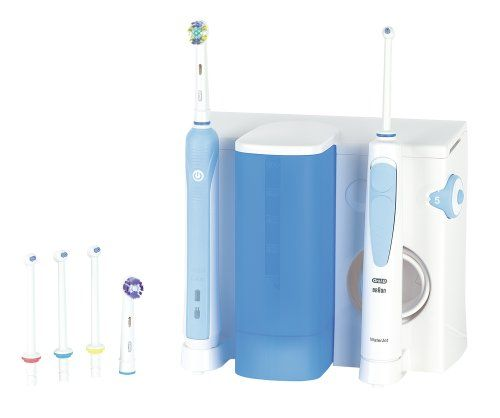 Offerta -21%  Oral B Oral Center16 Professional Care WaterJet + Spazzolino PC500 Oral-B http://www.amazon.it/dp/B003RRY42I/ref=cm_sw_r_pi_dp_1qm9ub1VPZCY2