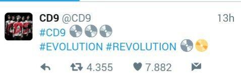 Y los que faltan!!!! #CD9 #EVOLUTION #REVOLUTION
