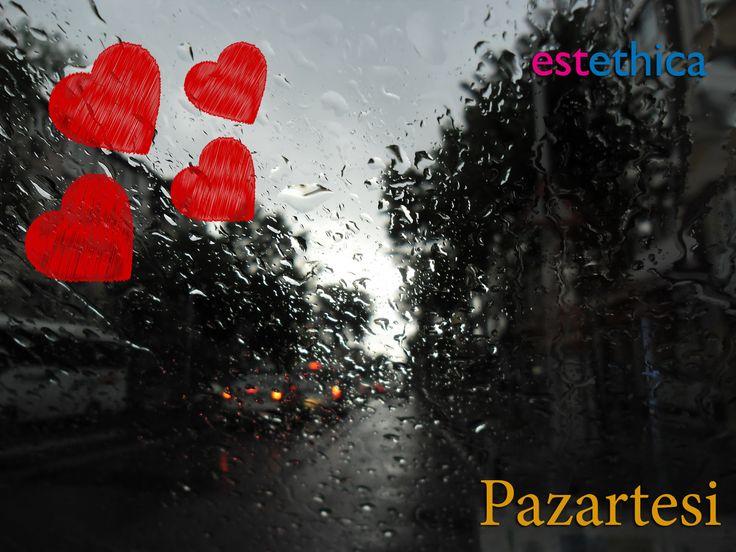 Yeni bir haftaya güzel bir başlangıç yapmanız dileğiyle…  İyi haftalar #Pazartesi  #estethica #sağlık #SağlıklıGüzellik #estetik #istanbul #yağmur #lodos #Monday #rain #niceweek