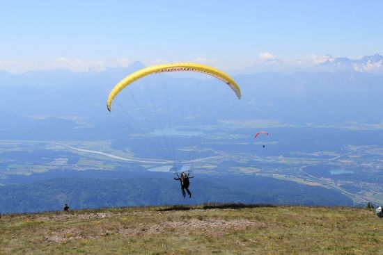The amazing experience of paragliding in La Cumbre, Argentina