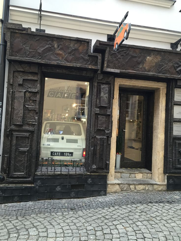 Maluch Café in Bielsko-Biała, Poland