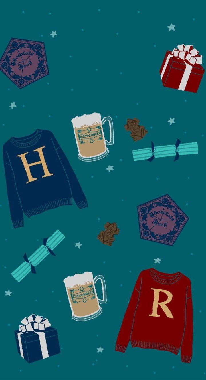 Harrypotter Christmas Backgrounds Harry Potter Background Harry Potter Harry Potter Hufflepuff