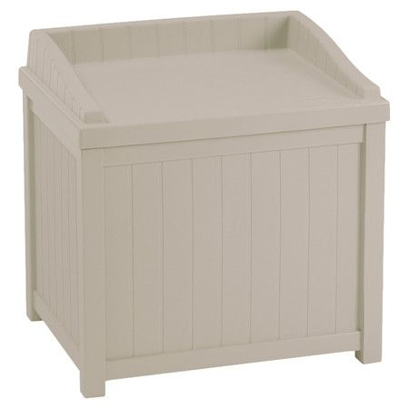 Found it at wayfair resin 22 gallon cube deck box http for Wayfair garden box