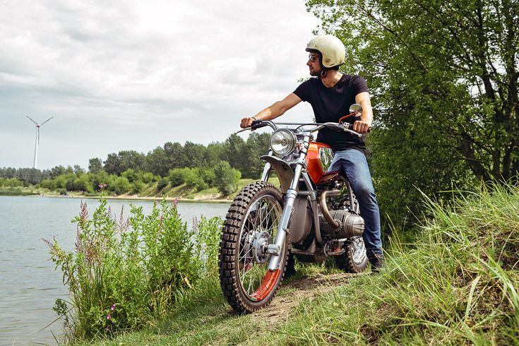 "caferacerpasion: ""BMW R 100 GS Scrambler by Urban Motor - Photos by Tim Adler 