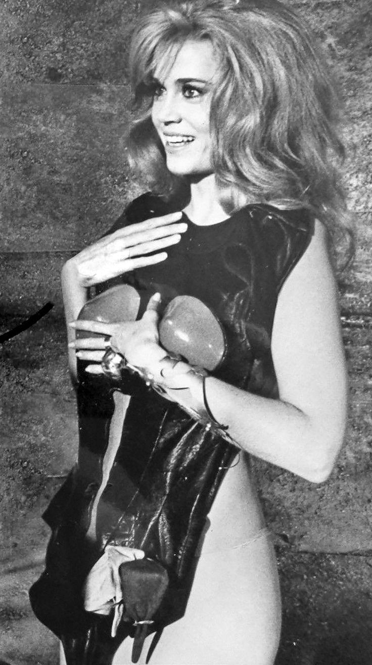 Jane Fonda Barbarella (1968) Jane fonda, Barbarella