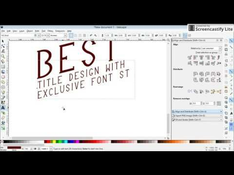 Exclusive font style
