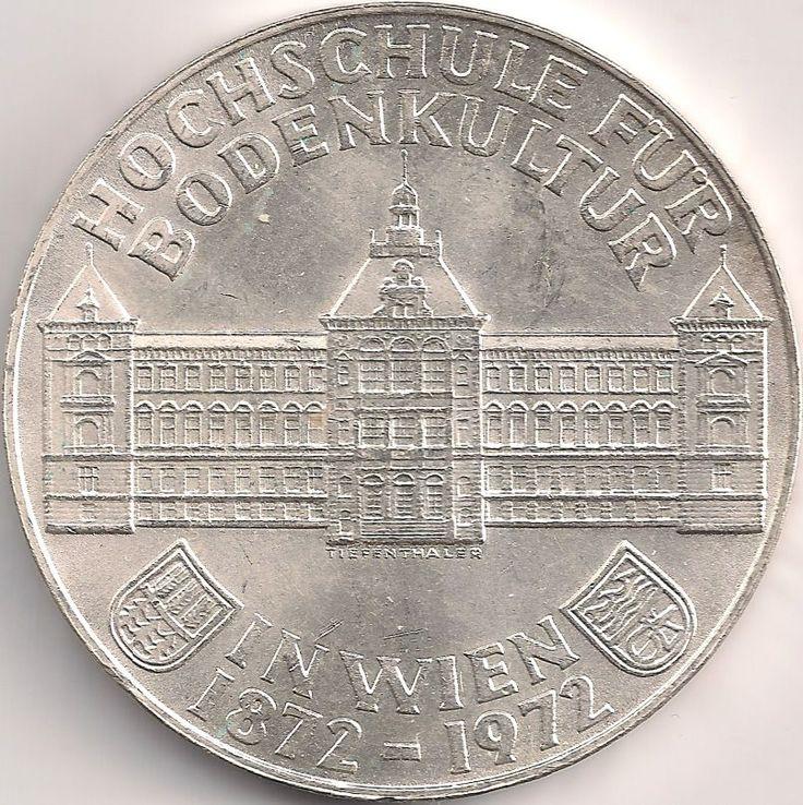 Motivseite: Münze-Europa-Mitteleuropa-Österreich-Schilling-50.00-1972-Hochschule für Bodenkultur