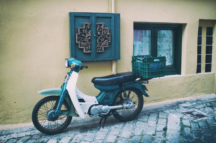 Vintage Scooter, Kavala, Greece