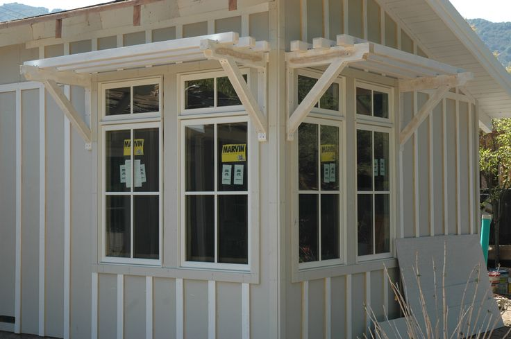 Marvin clad ultimate double hung windows stone white for Marvin transom windows