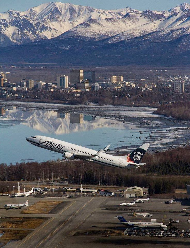 With views like this it is no wonder over 2 million visitors came to Alaska last year. Photo captured by Rob Stapleton Photographer/Ted Stevens Anchorage International Airport