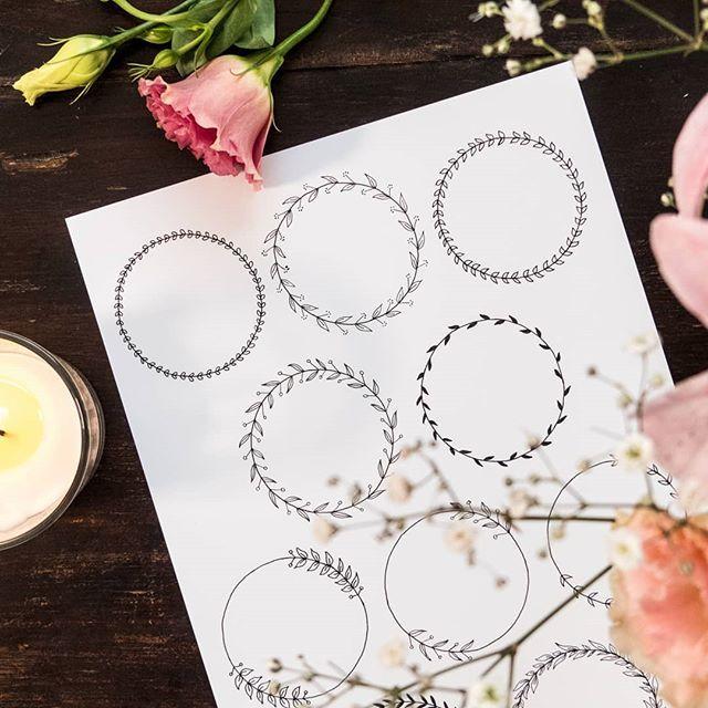 Doodles Wie Einfach Man Tolle Muster Machen Kann Wenn Man Eine Grundform Hat Wie Den Kreis M Fotoalbum Erstellen Geschenke Geschenke Verpacken Anleitung
