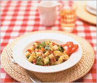 Pasta Salad - Cold pasta salads are popular summer fare for al fresco meals. This one is great for taking along on a picnic or as a nice change from sandwiches for lunch at work. #SummerSecretsContest