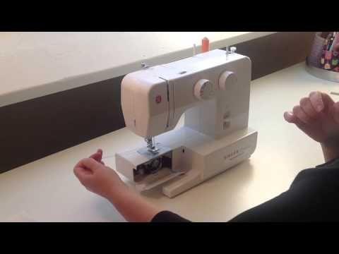 Hoe werkt de naaimachine - YouTube