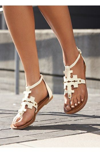 Not an emblem girl but I love these. Tory Burch 'Phoebe' Thong Sandal