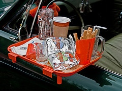 Loved the A&W window tray idea!!