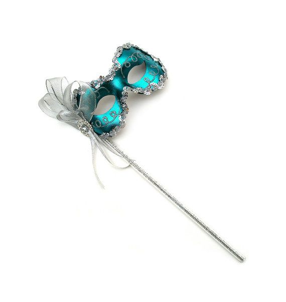 For those celebrating Mardi Gras this year...Angelina Teal Women's Masquerade Mask on a by SuccessCreations, $28.97