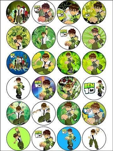 17 Best Images About Cupcakes Ben 10 On Pinterest Edible