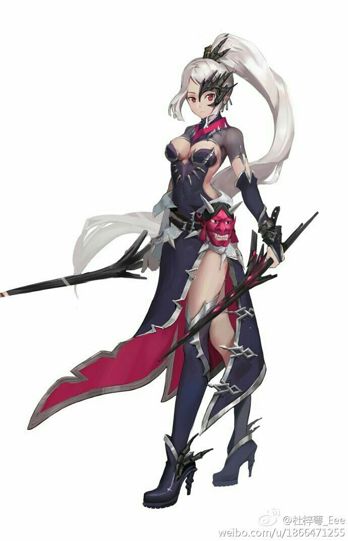 Pin By Vun Jie Ho On Fantasy Character Design In 2020 Anime Warrior Character Art Fantasy Character Design