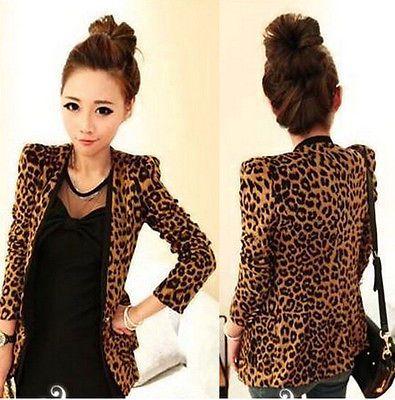 Sexy-Lady-Women-Leopard-Print-Jacket-Slim-Blazer-With-Shoulder-Pad-Suit-Outwear