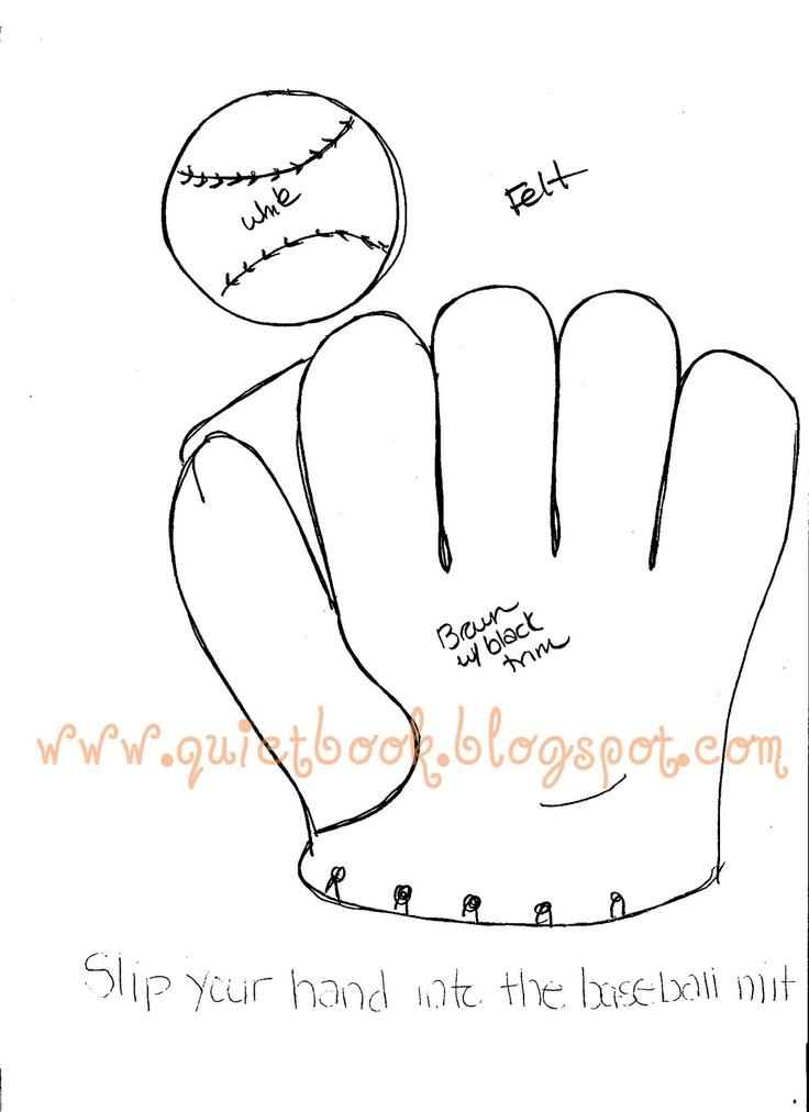 baseball glove template cake ideas and designs. Black Bedroom Furniture Sets. Home Design Ideas