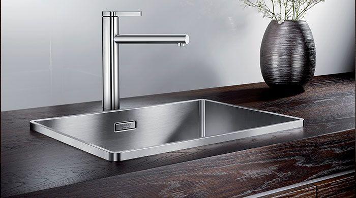Nytænkende ide fra BLANCO - med Attika løfter BLANCO sig igen fra det ordinære og lancere en skulpturel vask med klare association til Appels design