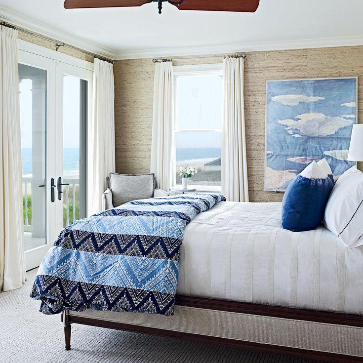 Sea-Hued Space - 40 Guest Bedroom Ideas - Coastal Living
