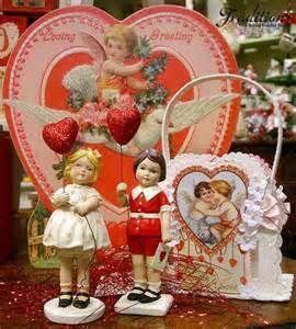 vintage valentine decorations yahoo image search results - Vintage Valentine Decorations