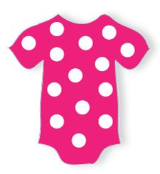 Baby Clothesline Baby Shower Idea - FREE printable onesie decorations!