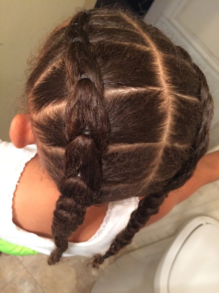 kids hairstyles, mixed girl hair