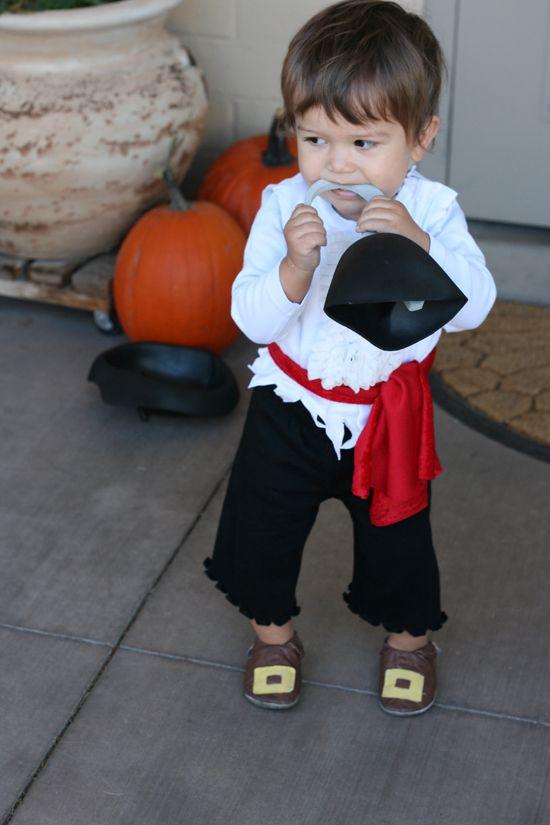 Pirate Custom child DIY