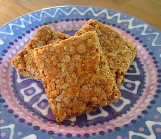 Crunchies- a little different than my Mom's recipe, but they look good!