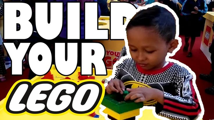 Build your LEGO - Bermain lego sepuasnya The Park Mall Solo | Keanu Kids
