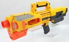 NERF N-Strike DEPLOY CS-6 Yellow Toy Dart Gun w/ Built In Light