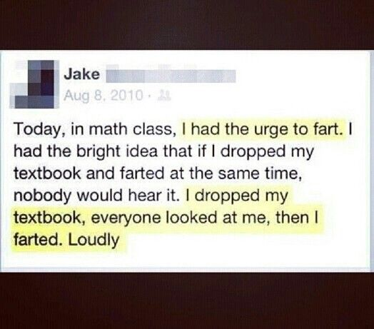 "Fart humor is the best. @Mindy Cortez   Maybe we should just come up with a shared board called ""Fart Humor"""