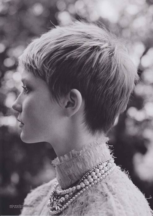 Mia Farrow cut of the 60's