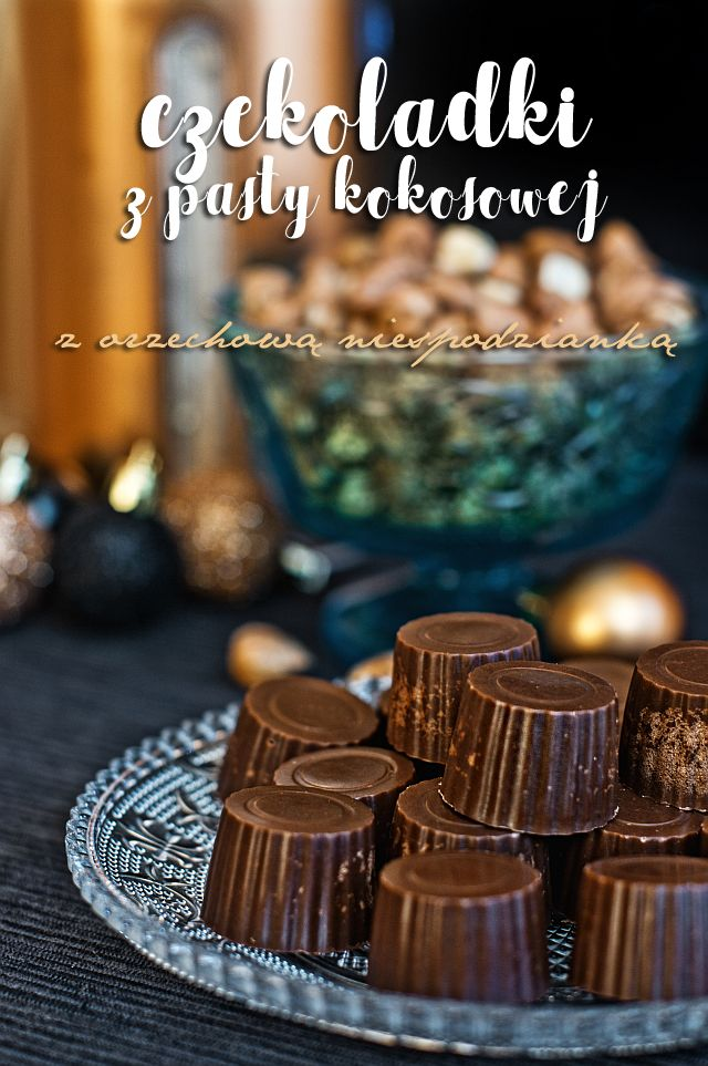 Paleo czekoladki z pasty kokosowej ~ Nie umiem gotować! - Paleo przepisy dla każdego