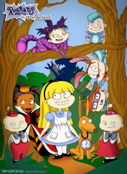 20 Funny Cartoon Mashups and Crossovers - can you figure them all out? :) I like the one with Daria and Harry Potter.