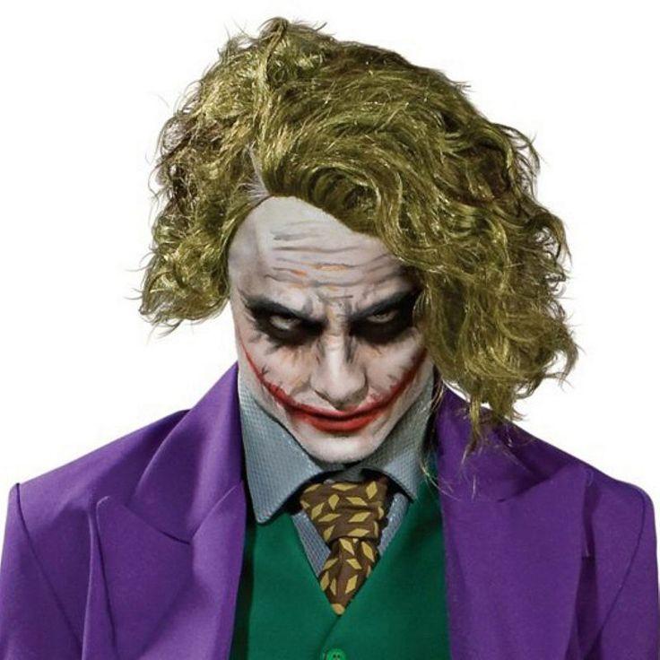 Kids DC Comics Batman the Joker Costume Wig, Brown