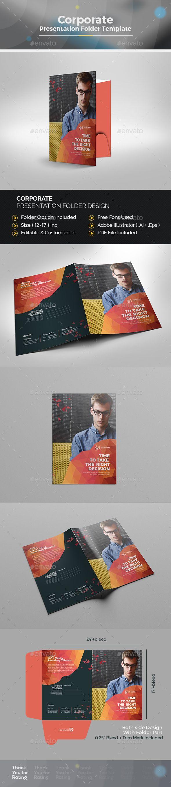 361 best folder templates images on pinterest | presentation, Presentation templates