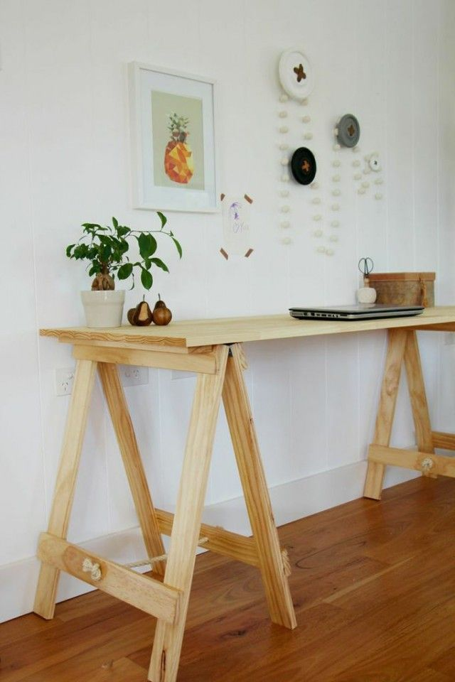 Interiors Addict - Husband and wife behind Plank and Trestle build tables to last