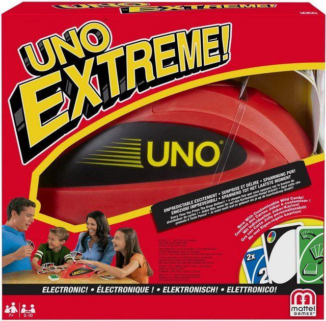 Spiel Mattel Games Uno Extreme Weihnachtsgeschenke Kinder Spielkarten Und Karte Spiel