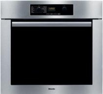 Miele Classic Design H4844BP 30 Single Electric Wall Oven with True European Convection