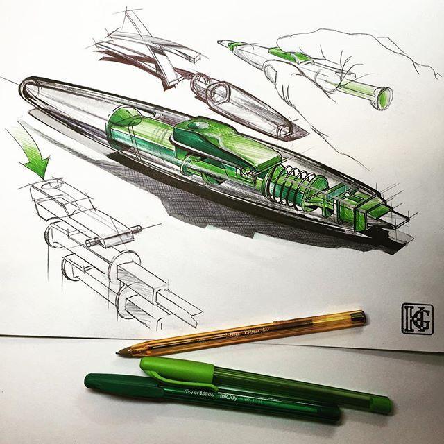#drawingoftheday #drawingaday #drawing #industrialdesign #illustration #çizim…