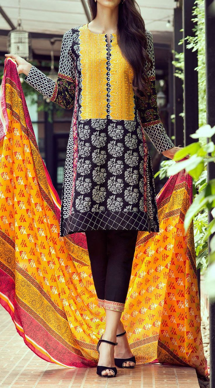 Buy Black/White Embroidered Dobby Salwar Kameez by Bonanza 2015 Email: Info@PakRobe.com www.pakrobe.com https://www.pakrobe.com/Women/Clothing/Buy-Winter-Salwar-Kameez-Online #Winter_Salwar_kameez