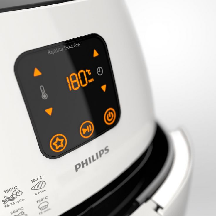 Philips AirFryer detail rendered in KeyShot by Remko De Wit.