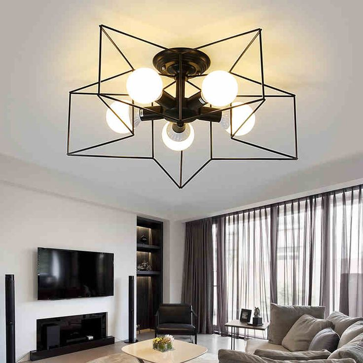 Cheap Ceiling Lamp Buy Quality Lamps For Living Room Directly From China Modern Led Suppliers Lights Star Shape LED