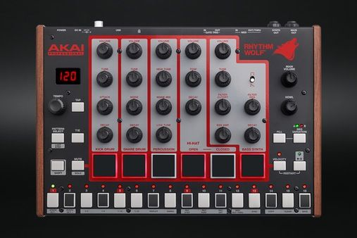 Akai Rhythm Wolf Analog Drum Machine & Synthesizer - Massdrop
